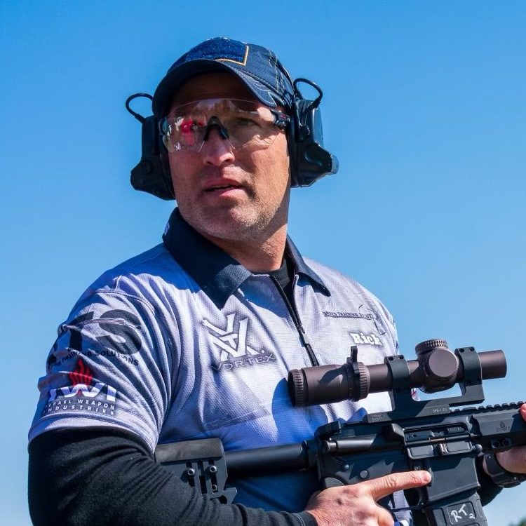 Rick Torres only uses RTE Targets for his instruction classes.